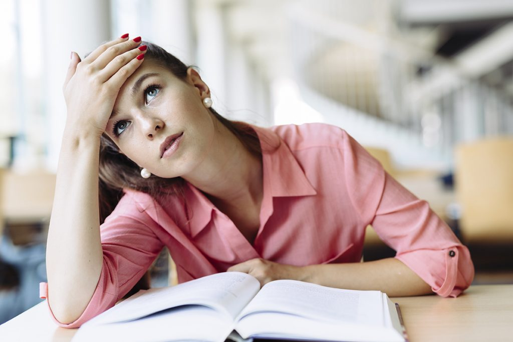 Stress in teens and young adults can affect health.